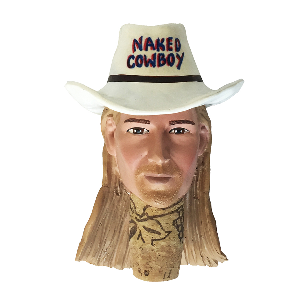 Naked Cowboy Bottle Stopper Gallery