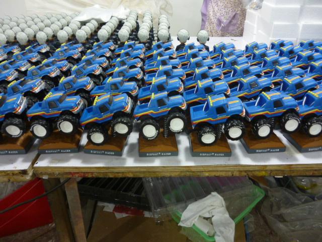 BIGFOOT Racer Monster Truck Bobblehead Gallery