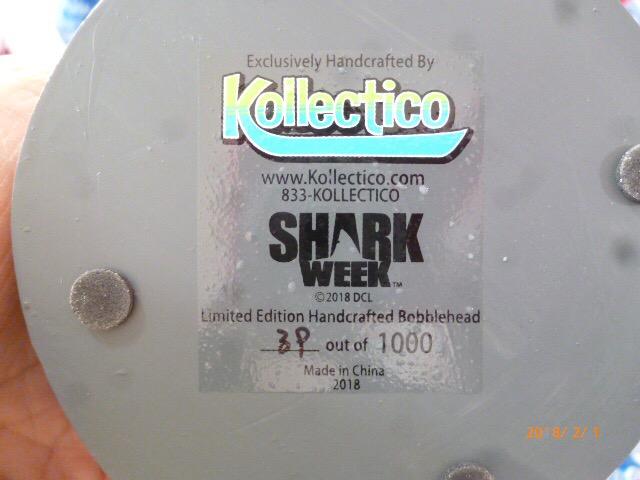 Shark Week Bobblehead – Great White Gallery