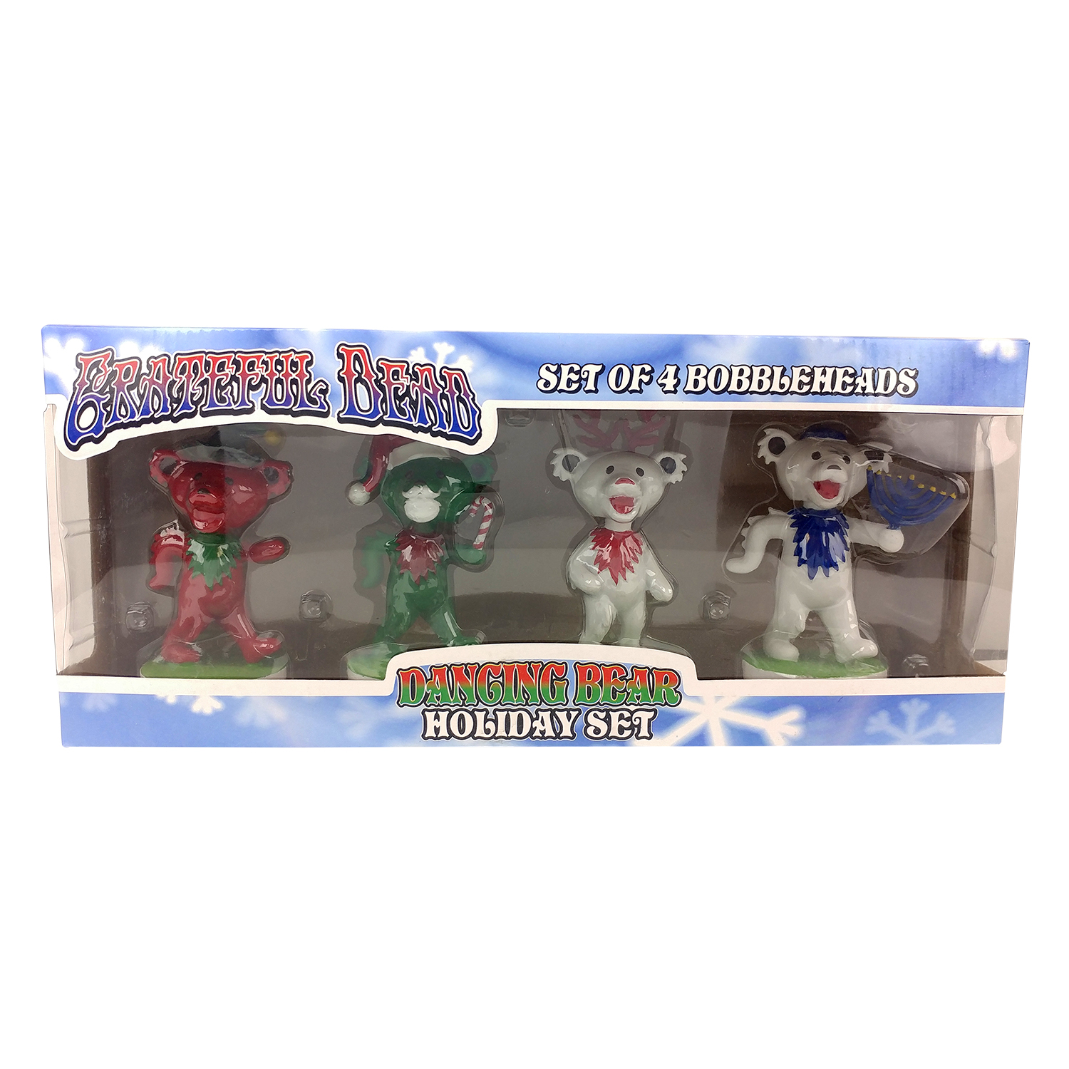 Grateful Dead Dancing Bears Holiday Set Gallery