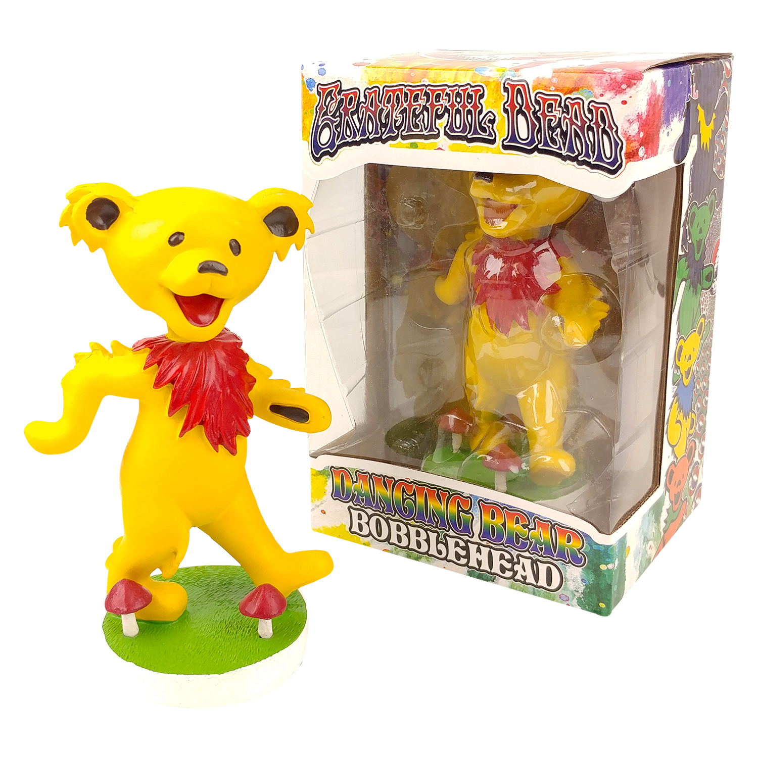 Grateful Dead Dancing Bear Bobbleheads Gallery