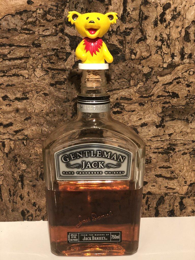 Grateful Dead Dancing Bears Bottle Stoppers – 3pc Set Gallery