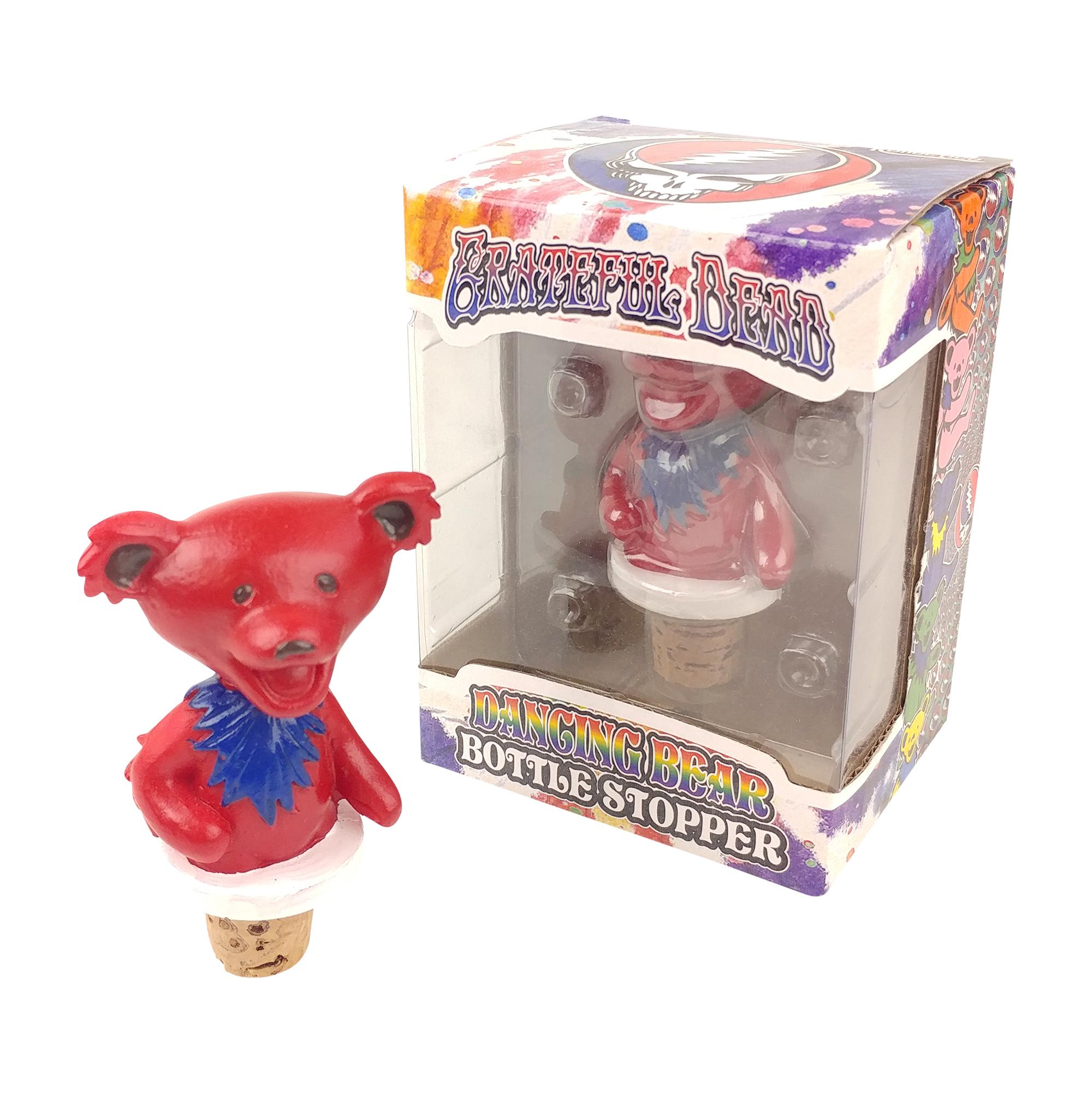 Grateful Dead Dancing Bears Bottle Stoppers - 1pc