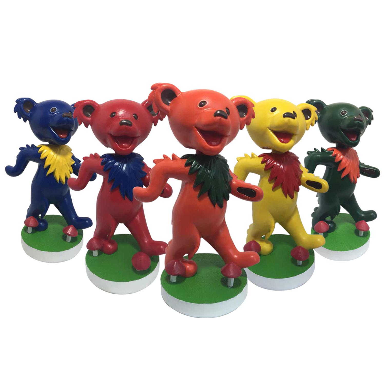 Grateful Dead Dancing Bear Bobbleheads