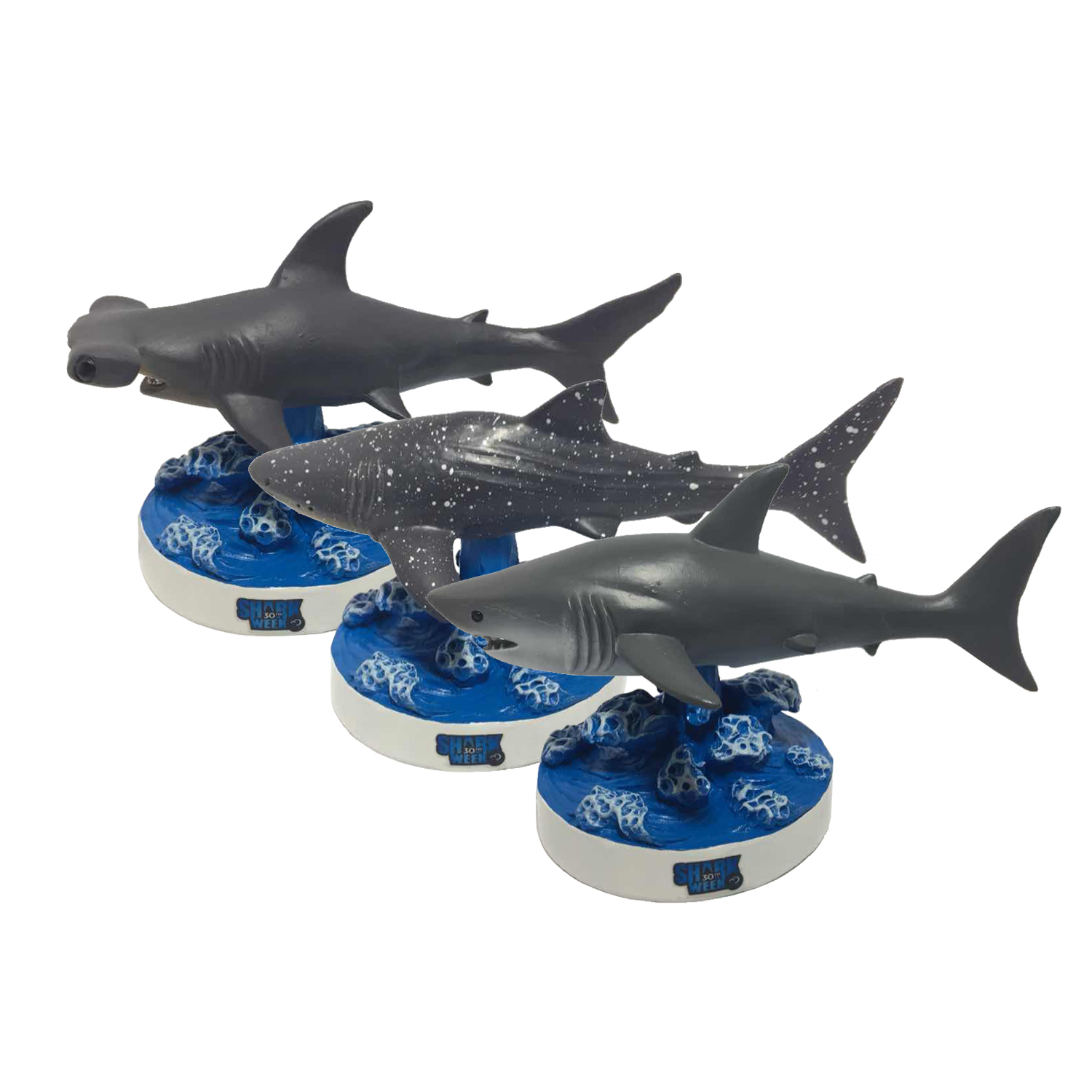Shark Week Bobblehead Set