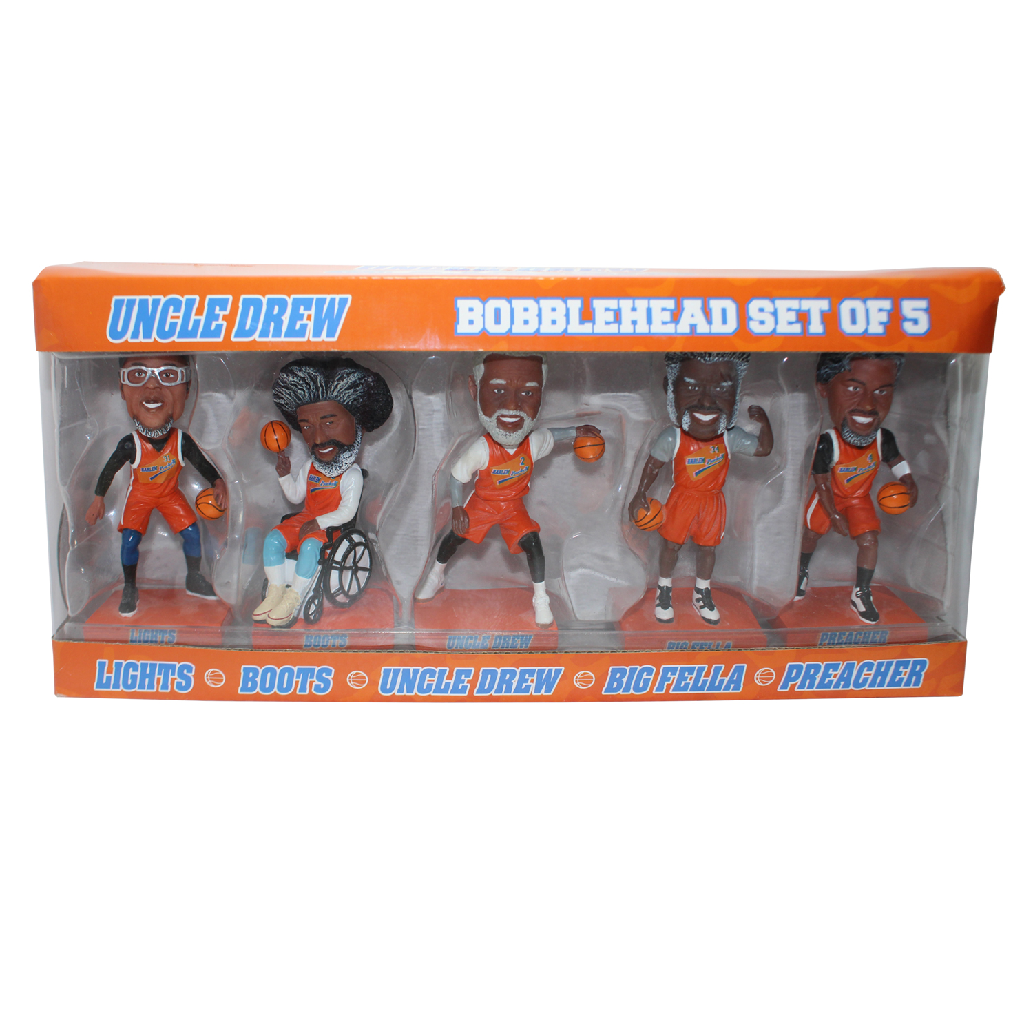 Uncle Drew Bobblehead Set Gallery