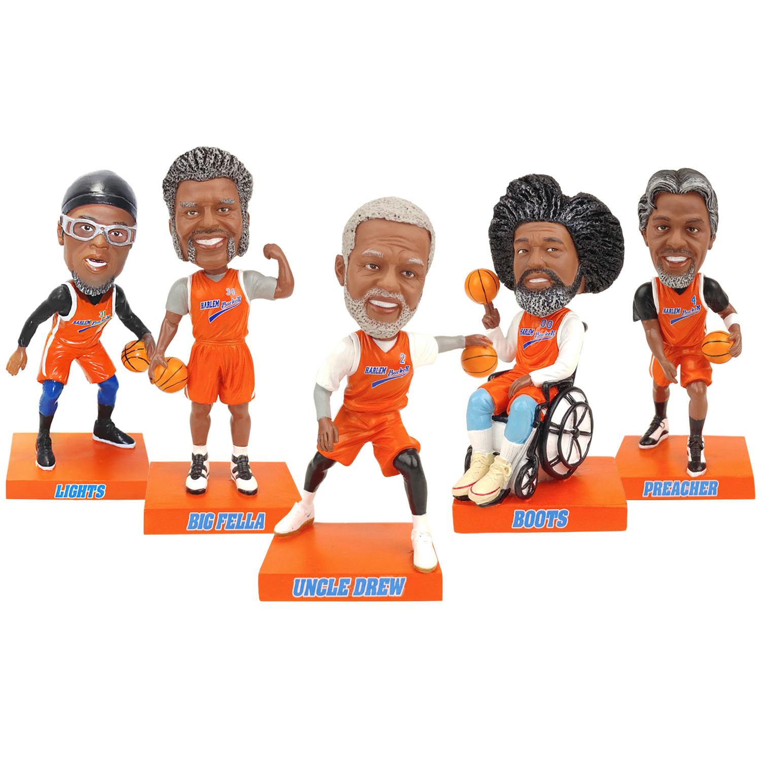 Uncle Drew Bobblehead Set