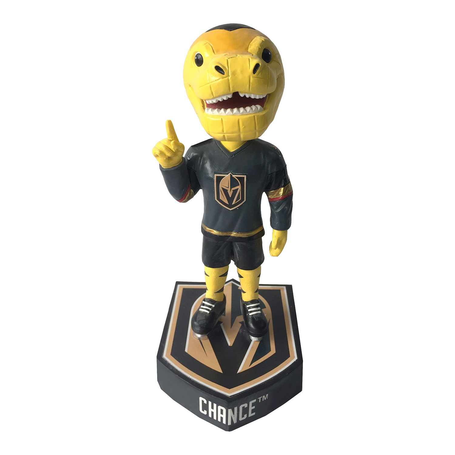 Vegas Golden Knights Chance Mascot Bobblehead