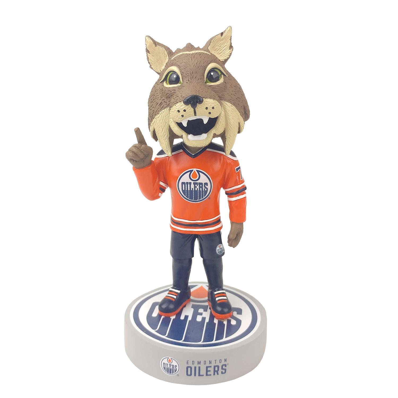 Edmonton Oilers Hunter Mascot Bobblehead