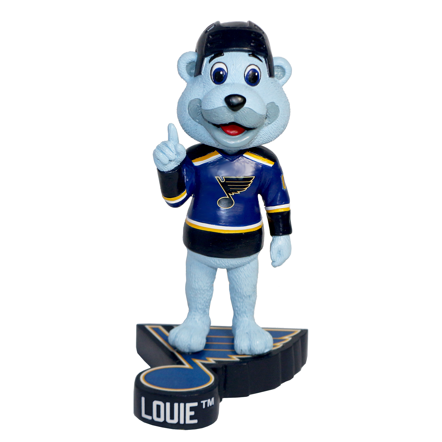 St. Louis Blues Louie Mascot Bobblehead Gallery