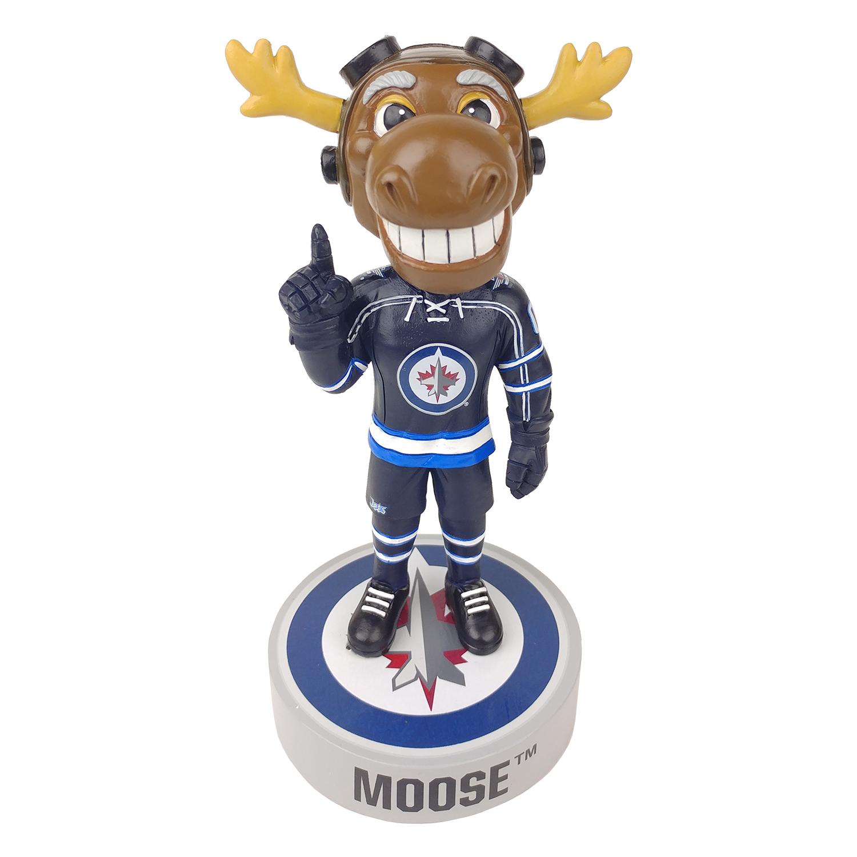 Winnipeg Jets Mick E. Moose Mascot Bobblehead