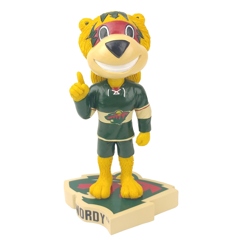 Minnesota Wild Nordy Mascot Bobblehead