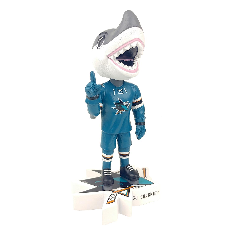 San Jose Sharks SJ Sharkie Mascot Bobblehead
