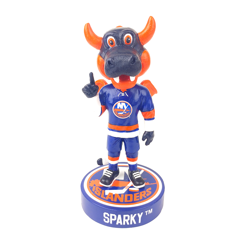 New York Islanders Sparky the Dragon Mascot Bobblehead Gallery