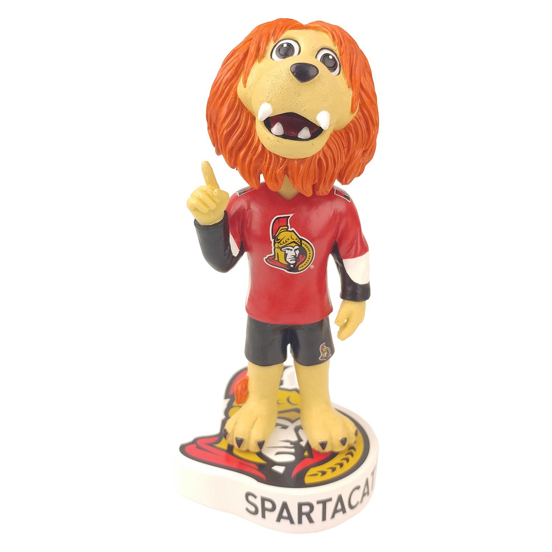 Ottawa Senators Spartacat Mascot Bobblehead Gallery