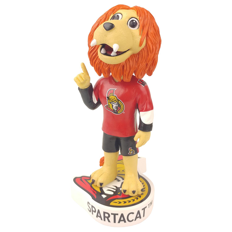Ottawa Senators Spartacat Mascot Bobblehead