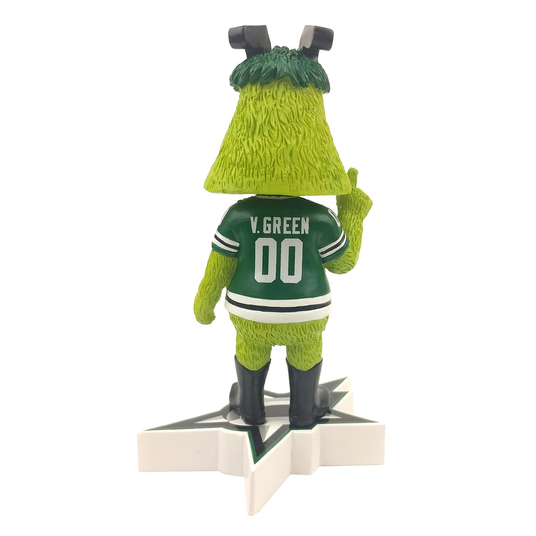 Dallas Stars Victor E. Green Mascot Bobblehead Gallery
