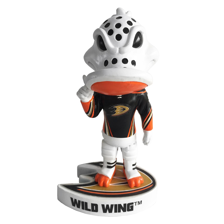 Anaheim Ducks Wild Wing Mascot Bobblehead Gallery