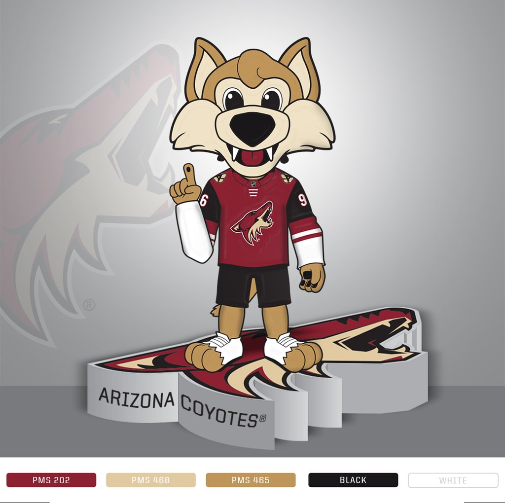 Arizona Coyotes Howler Mascot Bobblehead