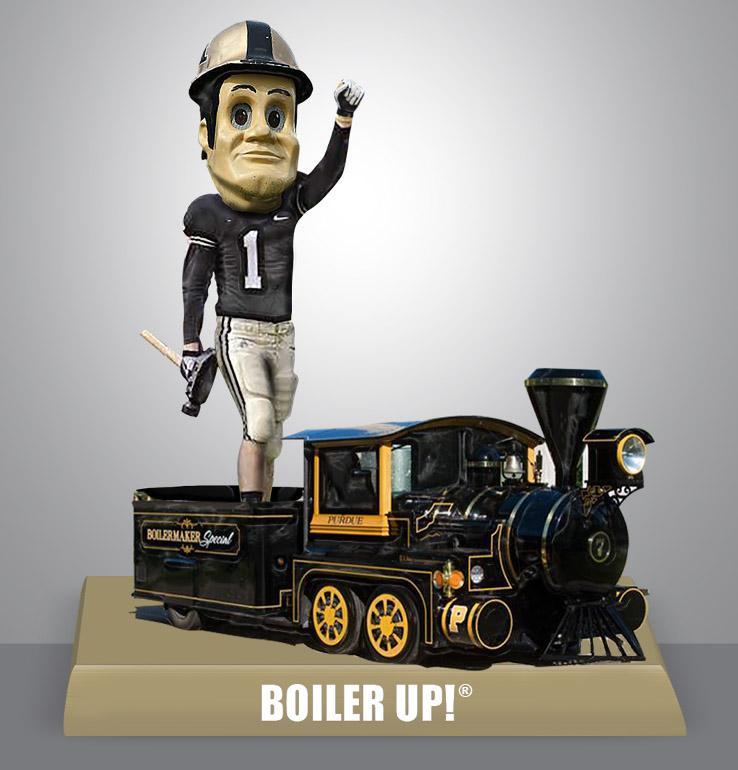 Purdue Boiler Up Train Bobblehead