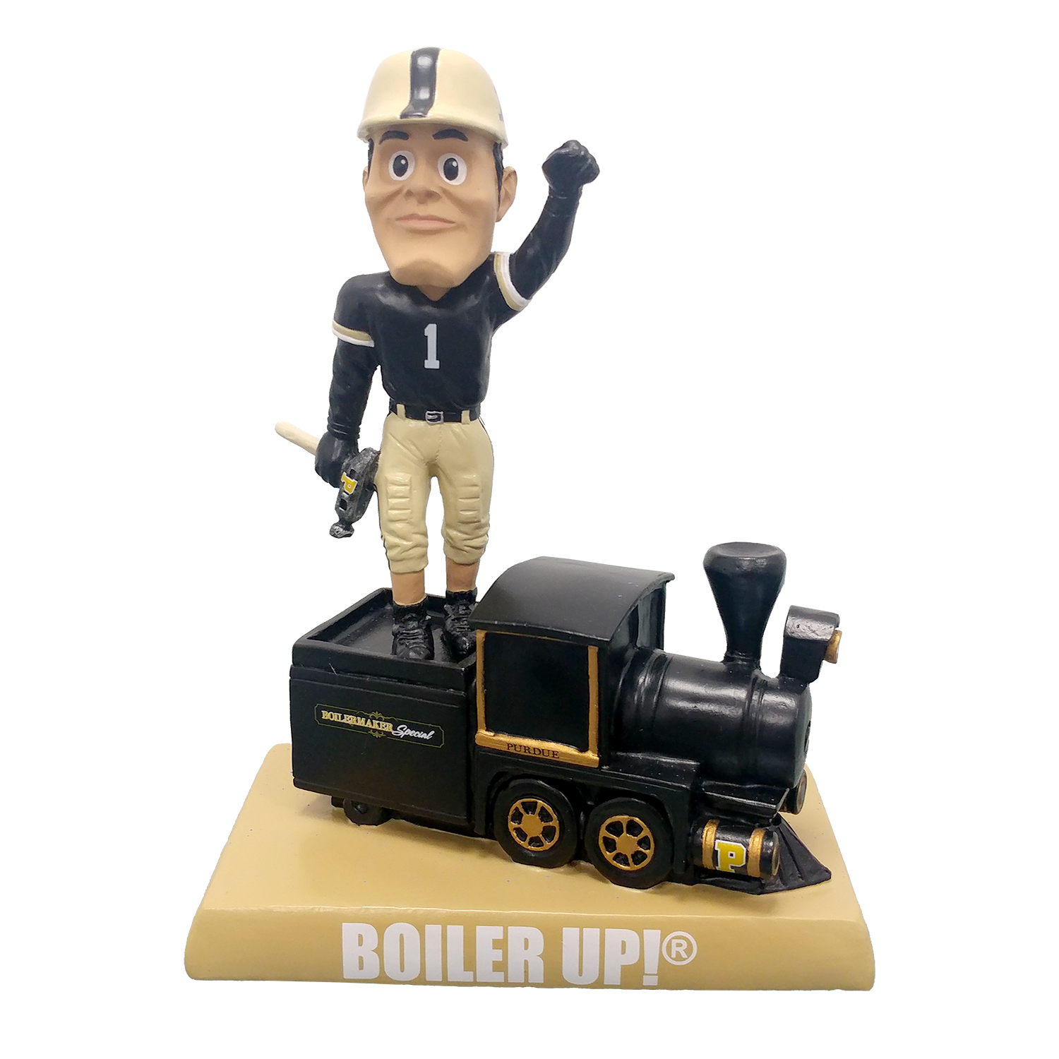 Purdue Boiler Up Train Bobblehead Gallery