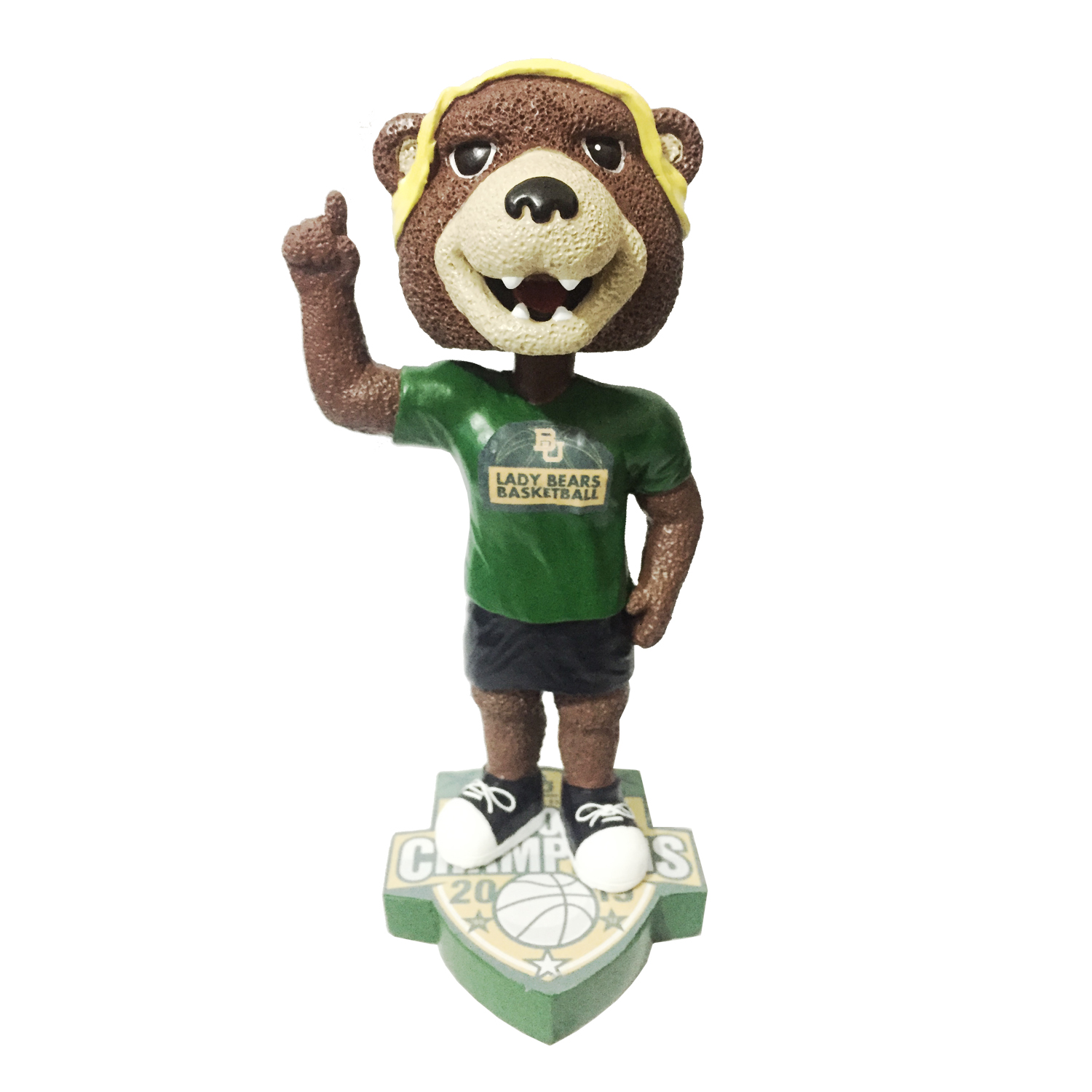Baylor University Lady Bears 2019 National Champions Bobblehead