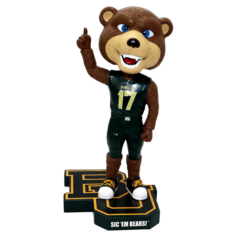 Baylor University 'Sic 'Em Bears!' Mascot Bobblehead