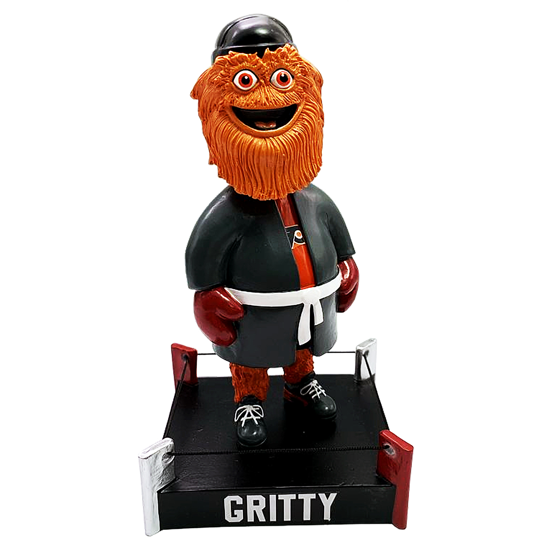 Philadelphia Flyers Gritty Boxing Mascot Bobblehead