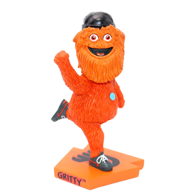 Philadelphia Flyers Gritty Streaking Mascot Bobblehead