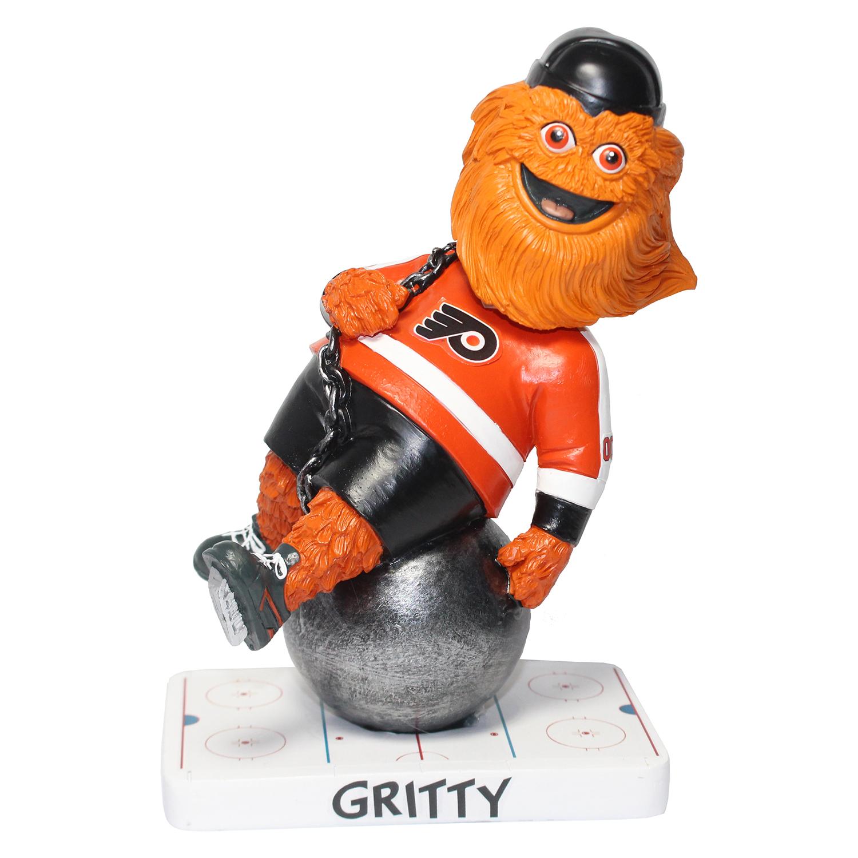 Philadelphia Flyers Gritty Wrecking Ball Mascot Bobblehead