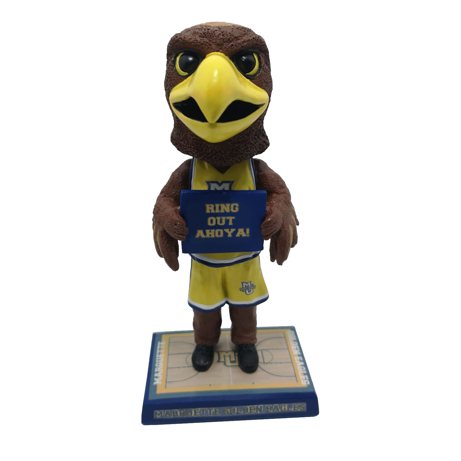 Marquette University 'Ring Out Ahoya!' Mascot Bobblehead