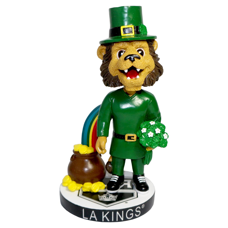 Los Angeles Kings Bailey St. Patrick's Day Mascot Bobblehead
