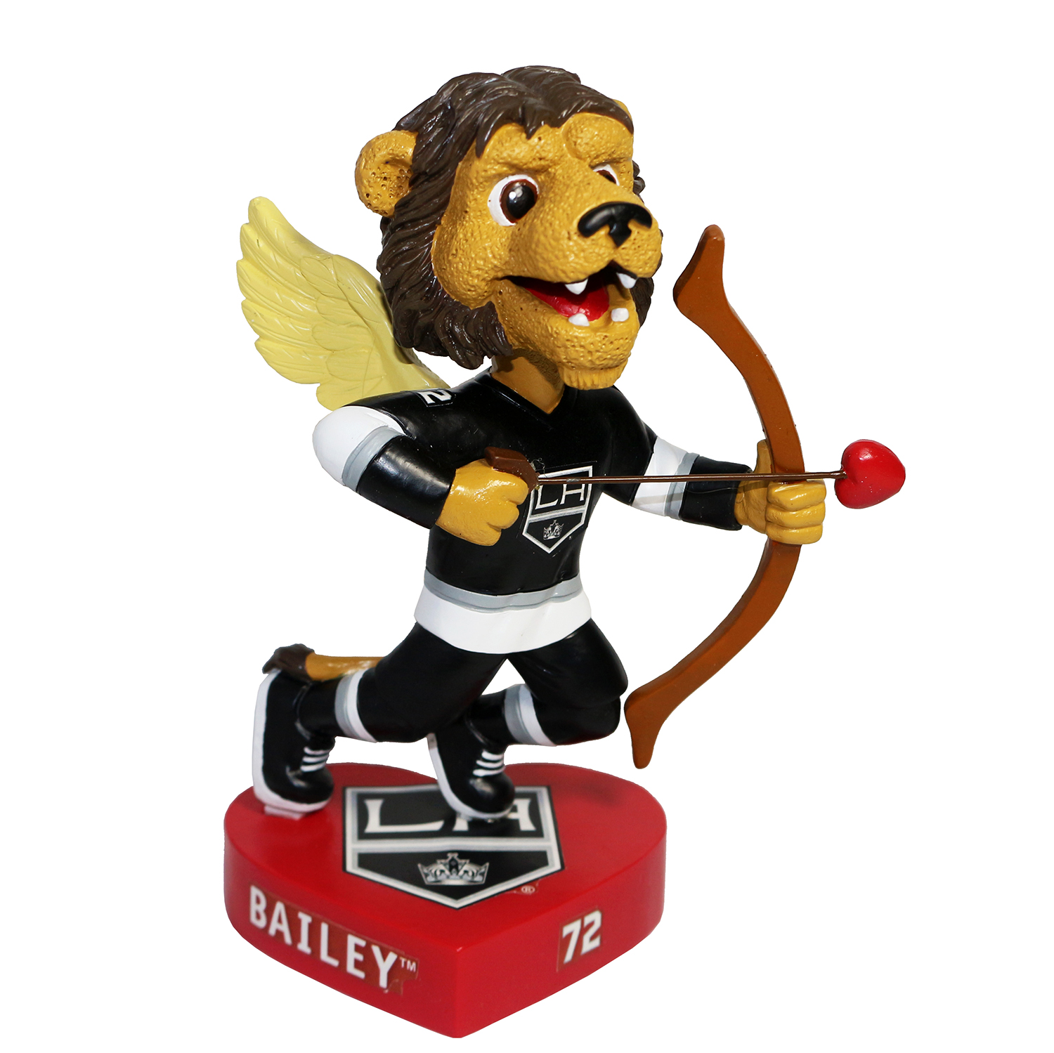 Los Angeles Kings Bailey Valentine's Day Mascot Bobblehead