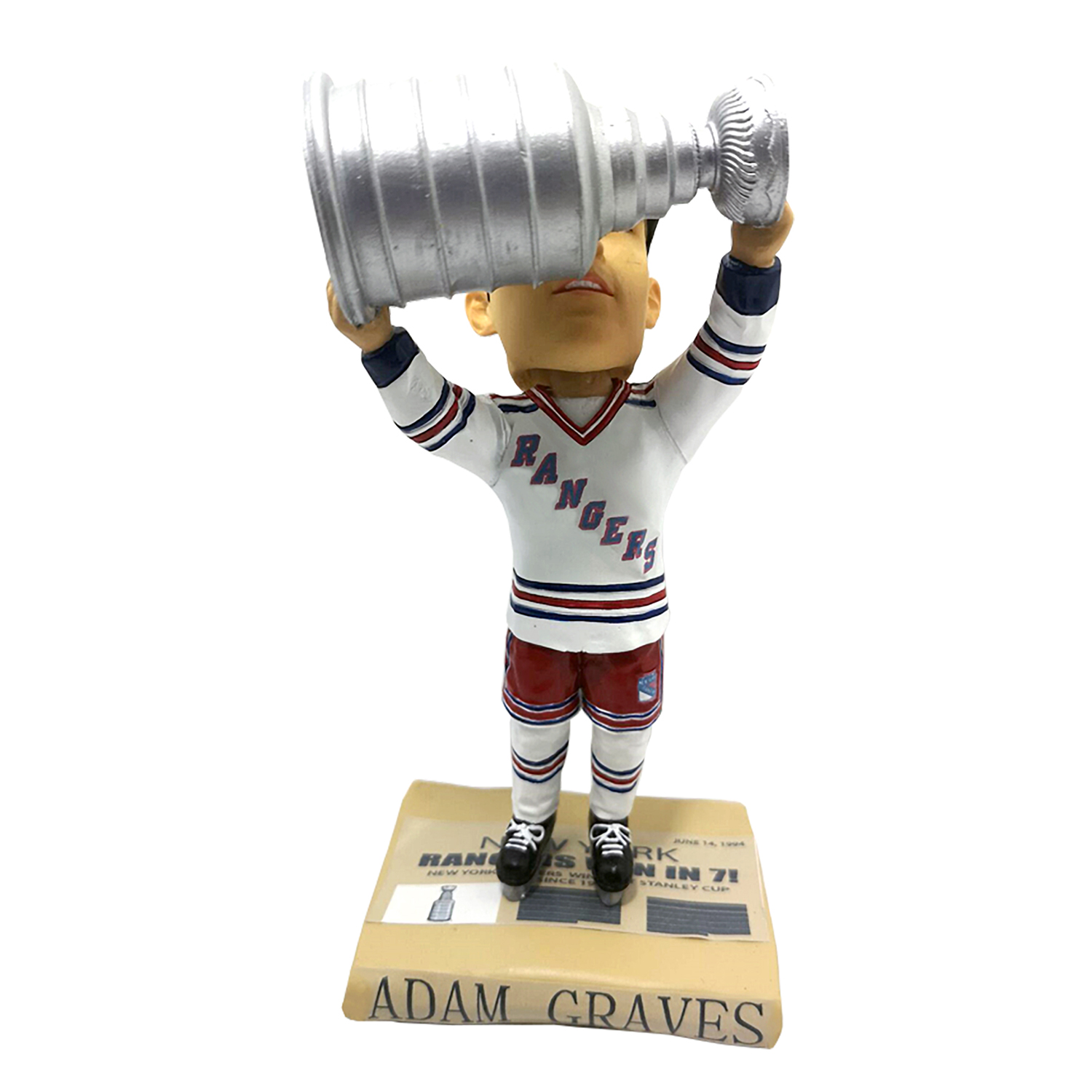 New York Rangers Adam Graves Stanley Cup Bobblehead