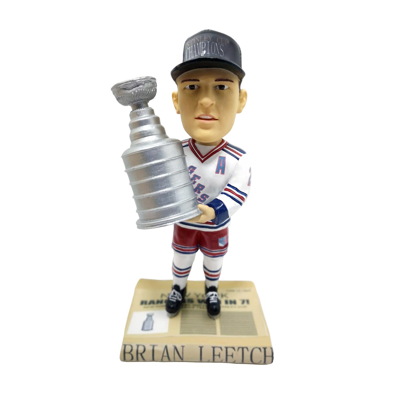 New York Rangers Brian Leetch Stanley Cup Bobblehead