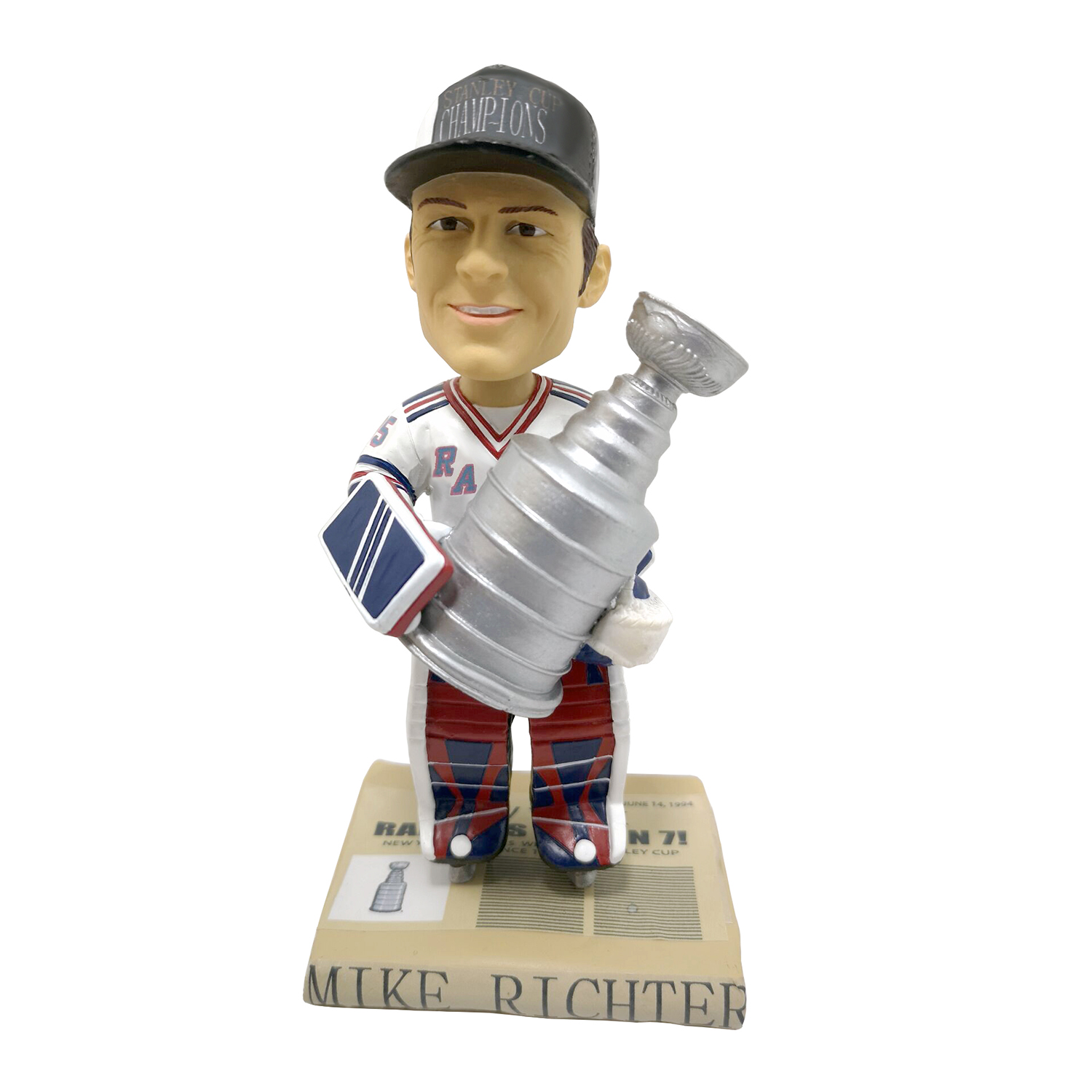New York Rangers Mike Richter Stanley Cup Bobblehead