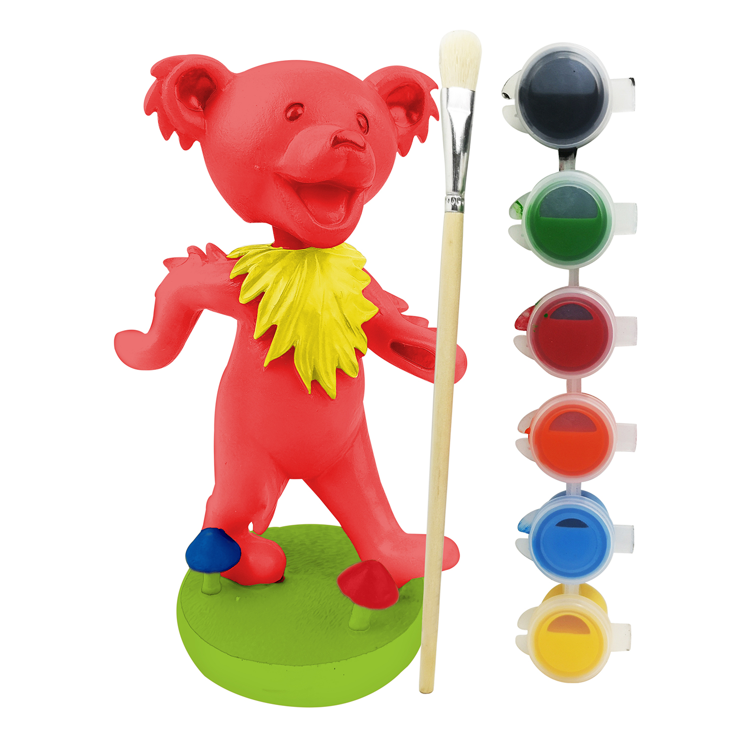 Paint Your Own Grateful Dead Dancing Bear Bobblehead Gallery