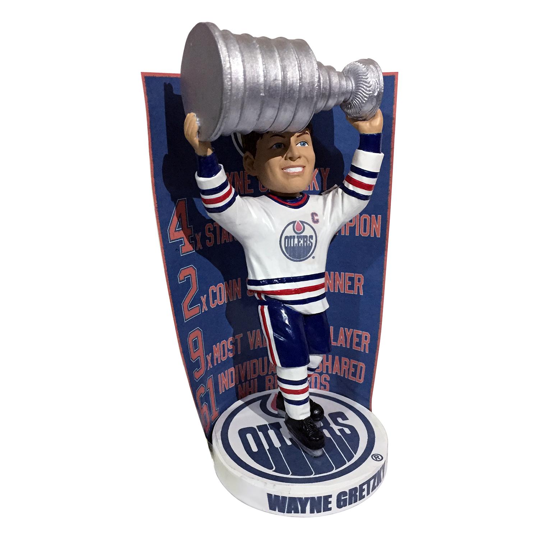 Edmonton Oilers Wayne Gretzky Banner Bobblehead