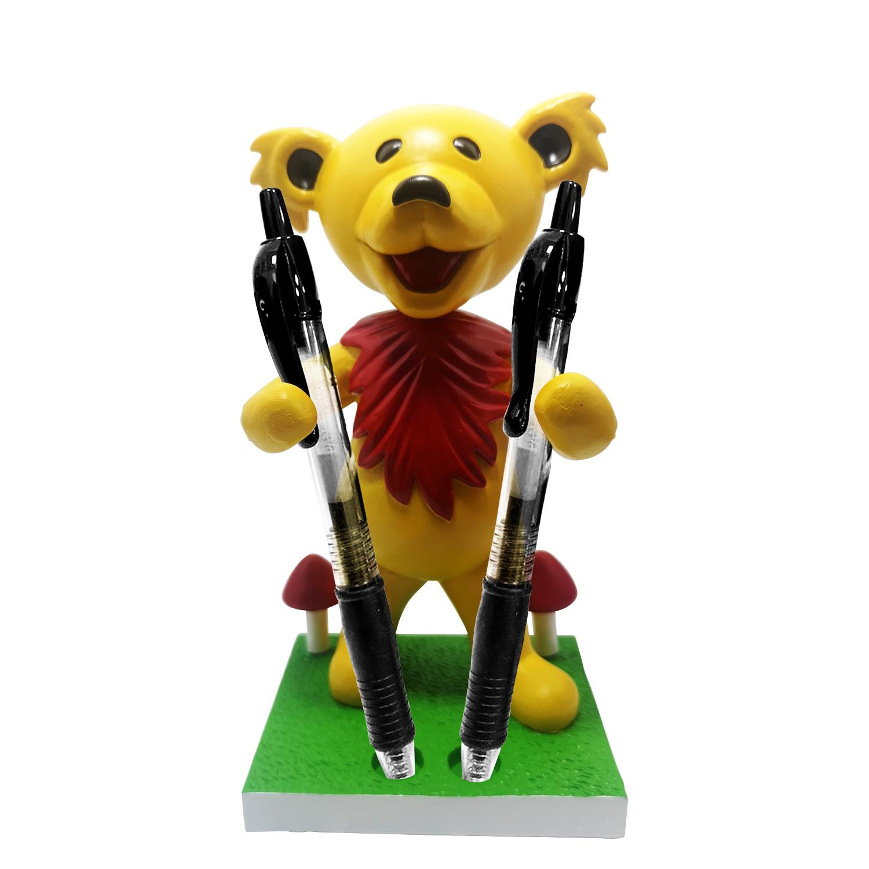 Grateful Dead Dancing Bear Pen/Toothbrush Bobblehead Holder – Yellow Gallery