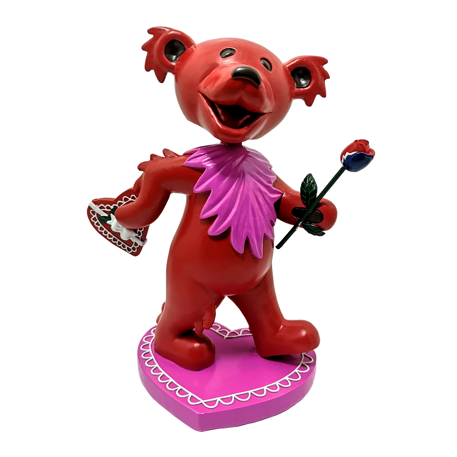 Grateful Dead Dancing LOVE Bear Bobblehead Gallery