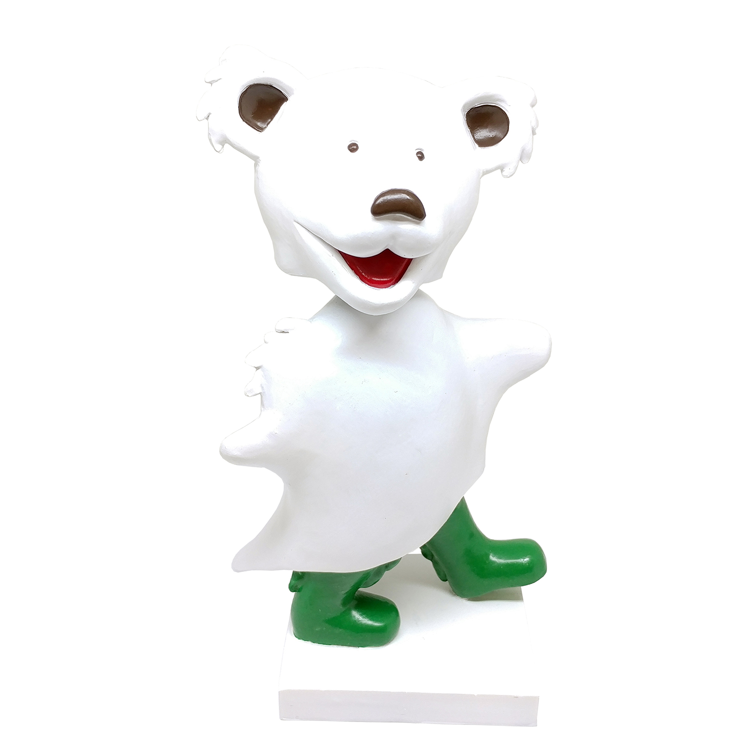 Grateful Dead Dancing Ghost Bear Bobblehead