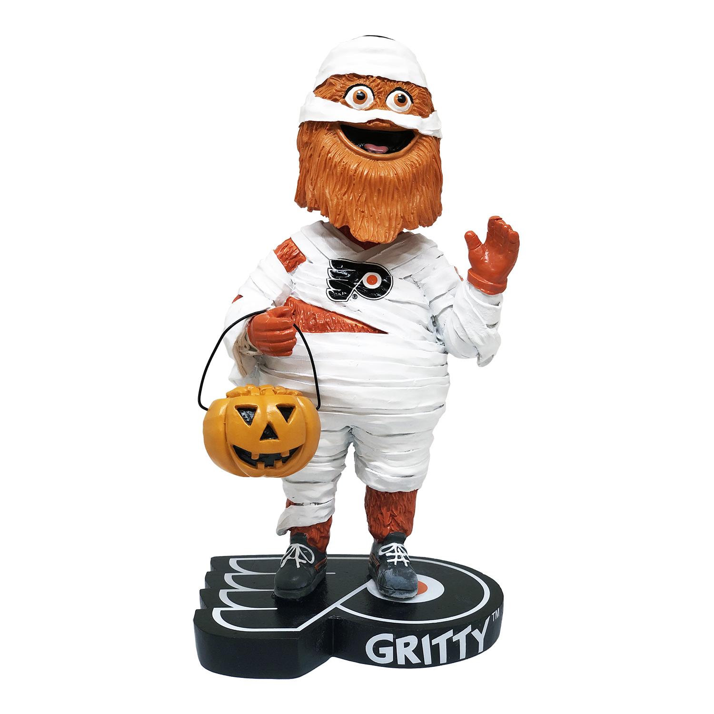 Philadelphia Flyers Gritty Halloween Mummy Bobblehead