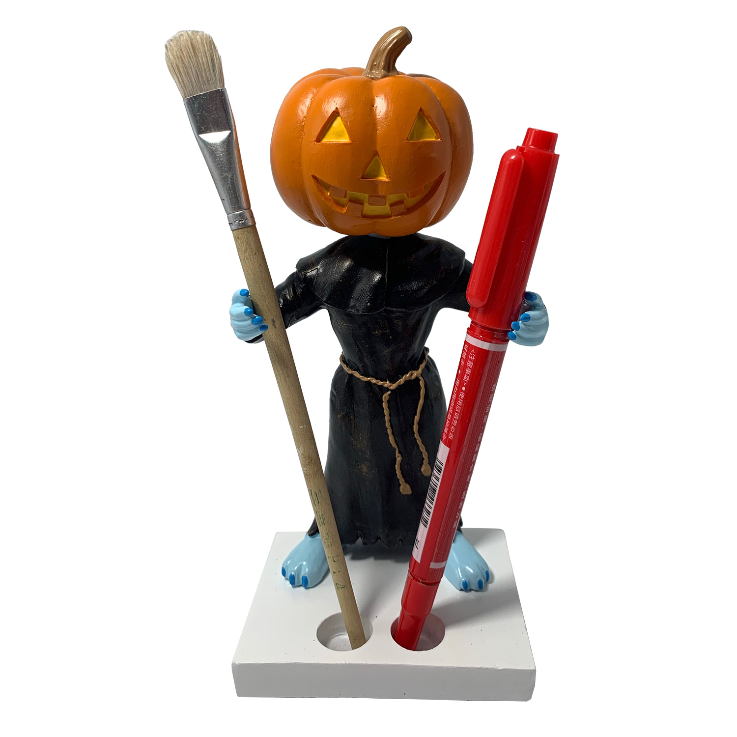 Pumpkin Head Bobblehead Holder