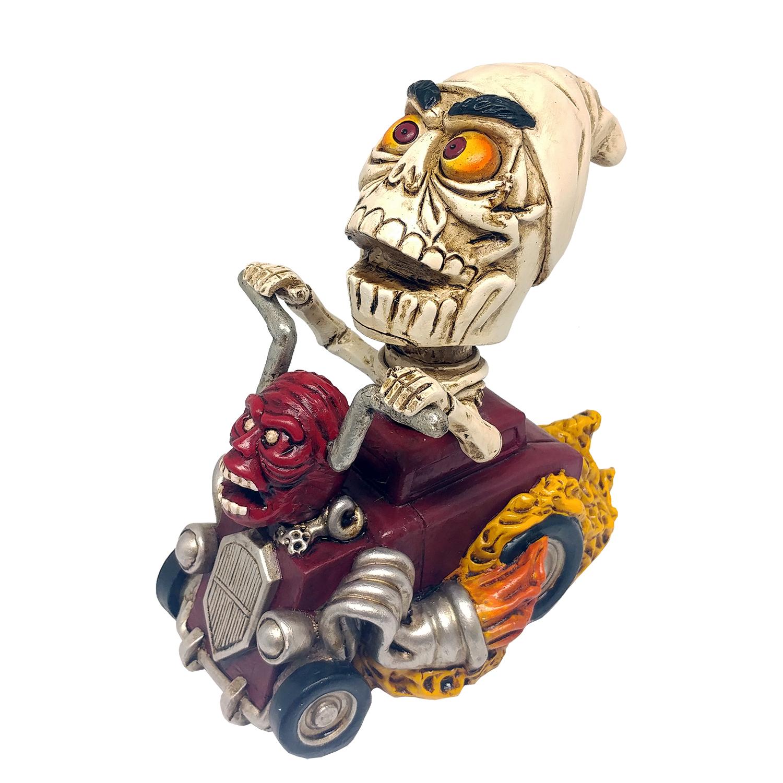 Skeleton Car Bobblehead
