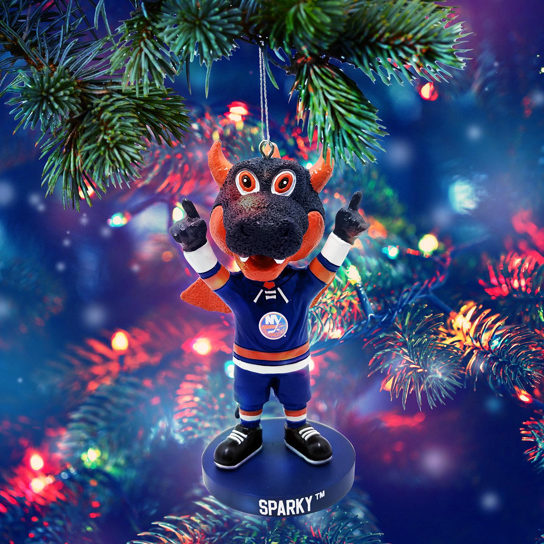 New York Islanders Sparky Bobblehead Ornament Gallery