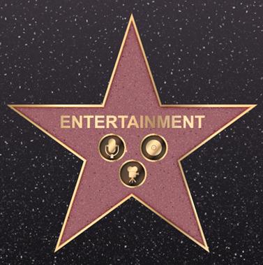 Entertainment Ornaments