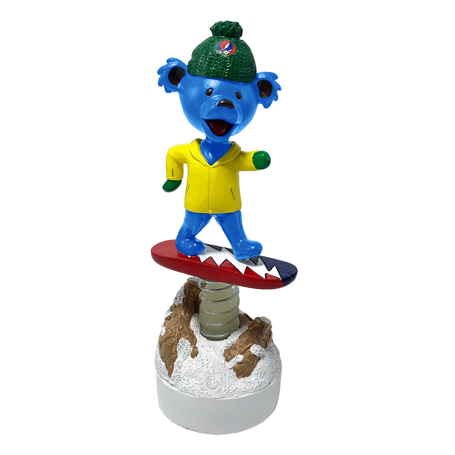 Grateful Dead Dancing Bear on Snowboard Gallery
