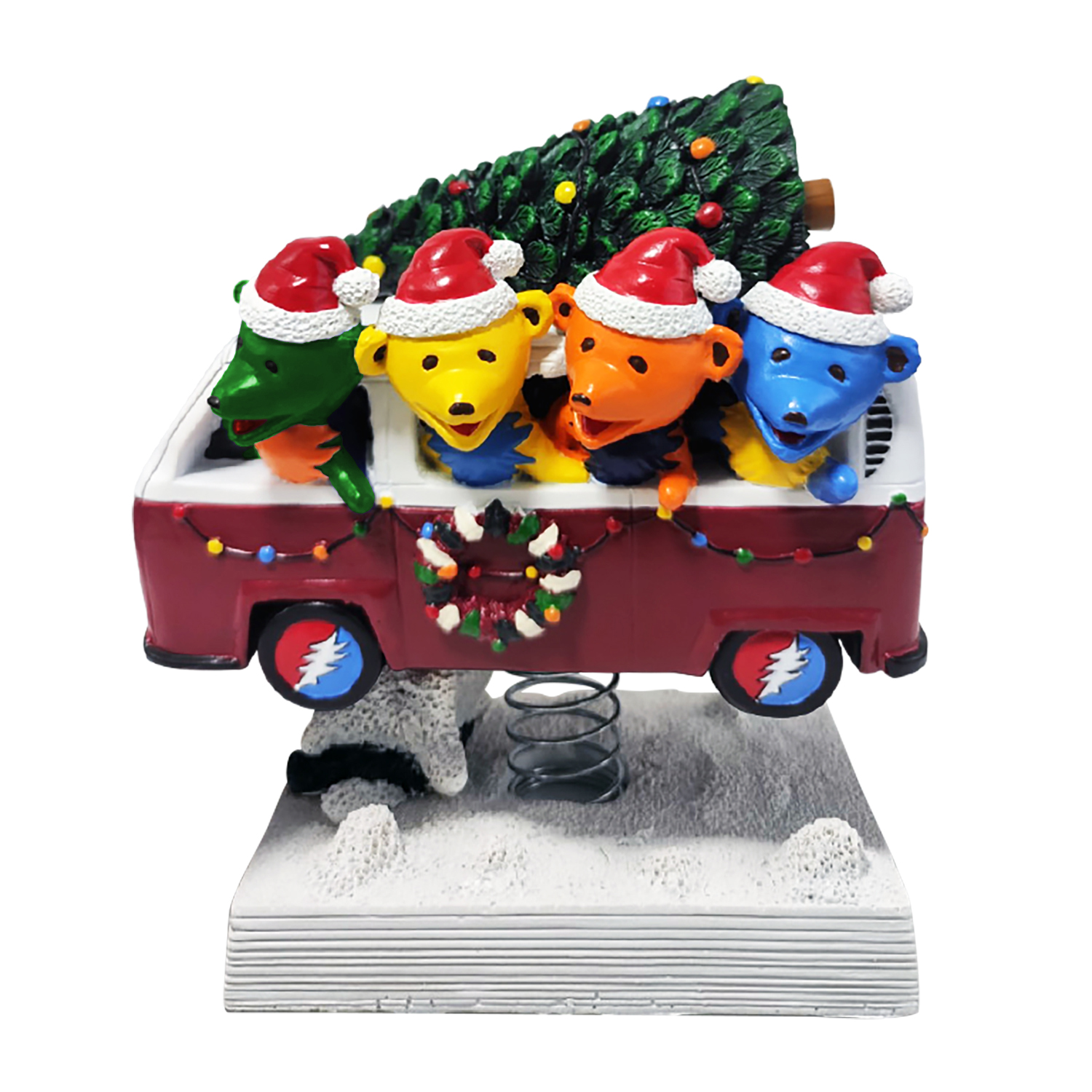 Grateful Dead Dancing Bears Holiday Van