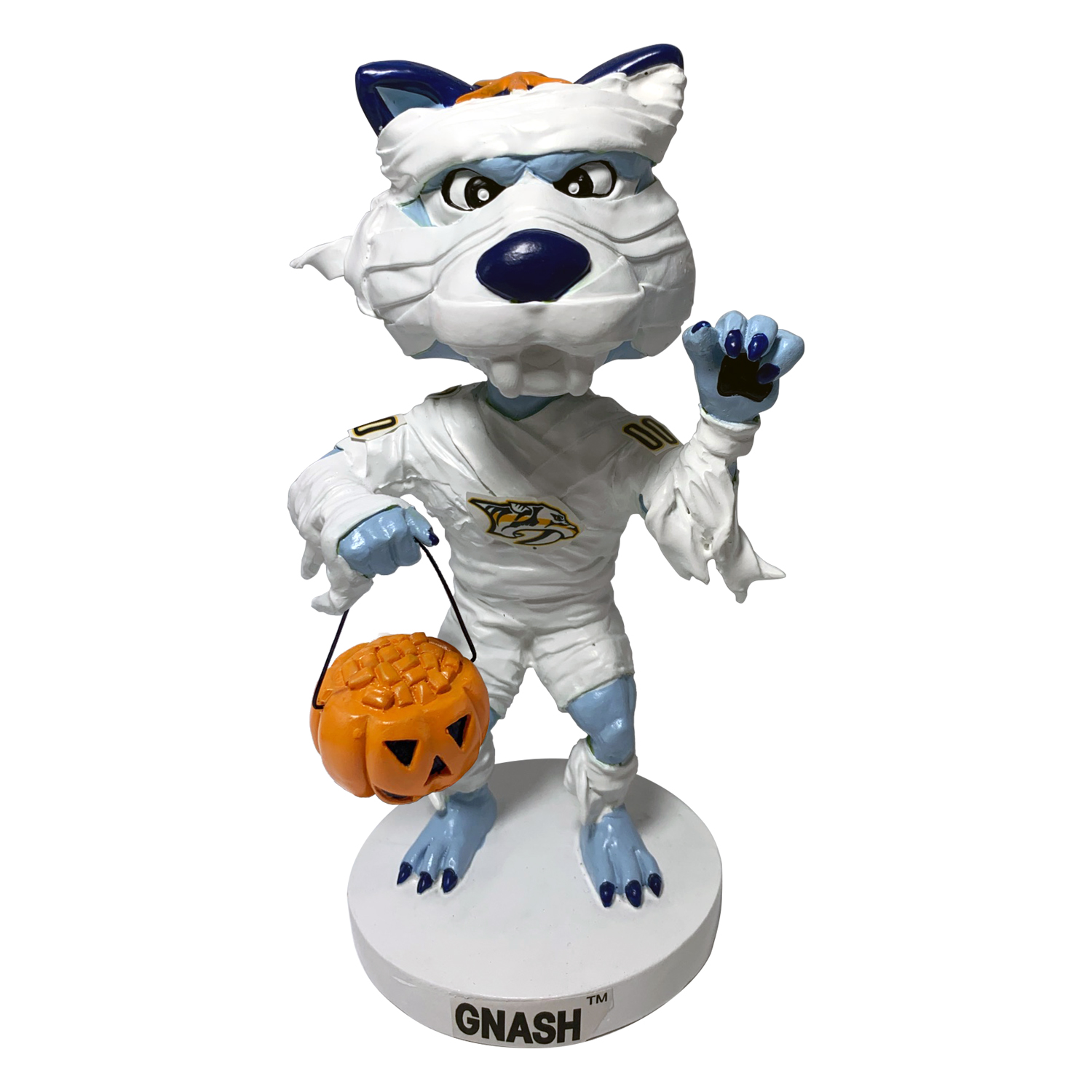 Nashville Predators GNASH Mummy Bobblehead