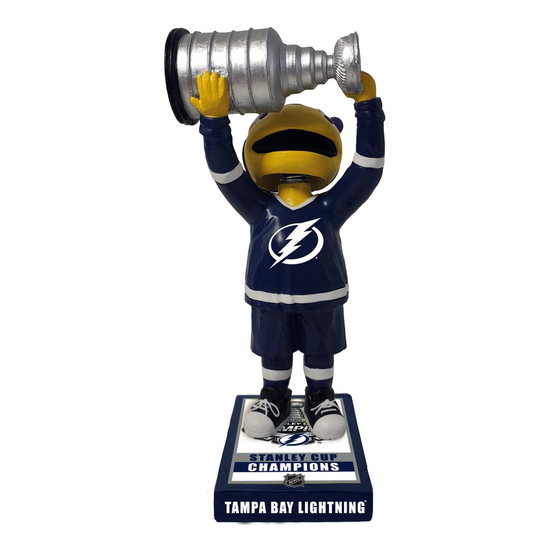 Tampa Bay Lightning ThunderBug Mascot Championship Bobblehead